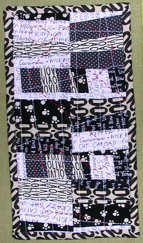 licorice miniquilt