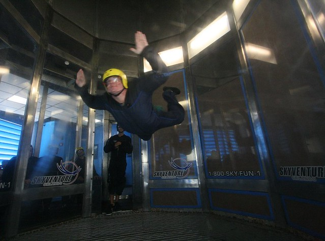 Experience the adrenaline rush of skydiving without jumping out of an airplane on this free-fall flight inside a wind tunnel. Orlando's iFLY is the premiere indoor skydiving facility for all ages, providing two 1-minute sessions of free-fall flight time (equivalent of freefall skydives).5/5(1).