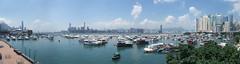 銅鑼灣避風塘全景圖