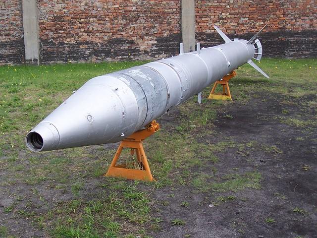 Boden-Boden-Rakete 9M21 des Komplexes 'Luna-M'