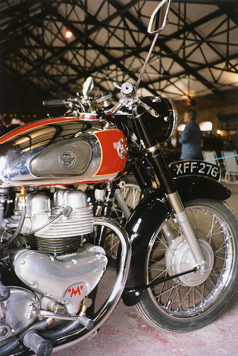 Matchless G9 Motorcycle, Elsecar Heritage Centre