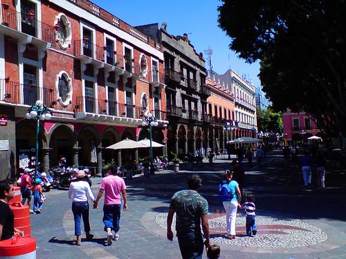 Zócalo, Puebla (México) - Por leonardo-canon-rubiano en Flickr