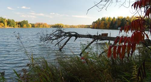MUELLERS LAKE,POLAR WI.HWY 64