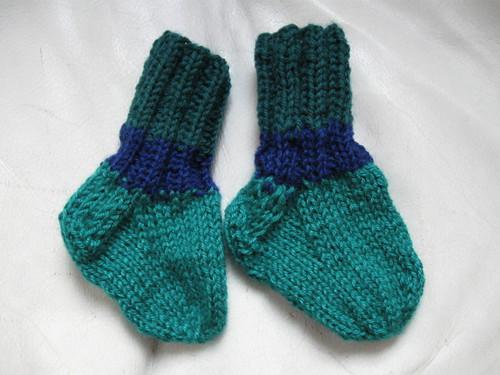 baby scrap socks