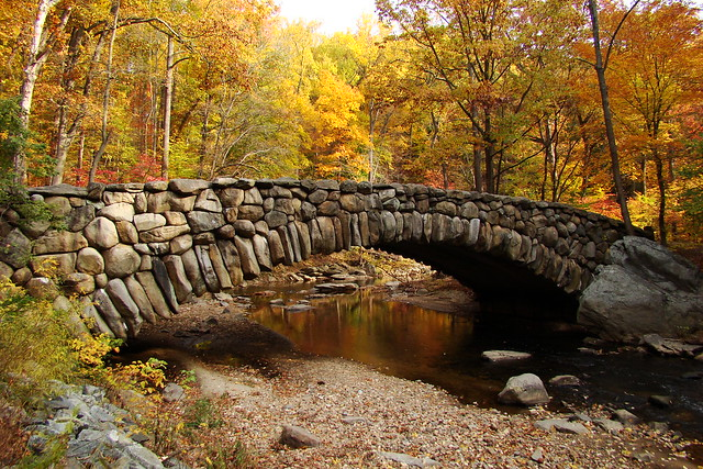 Boulder Bridge, Rock Creek Park - Beach Drive