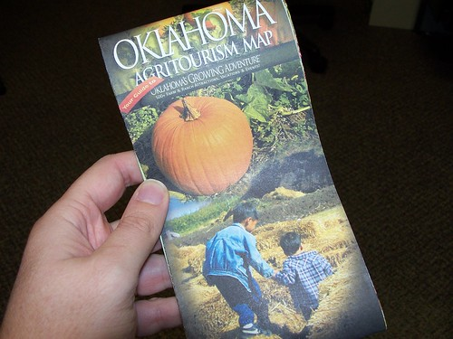 Oklahoma Agritourism Map (cover)