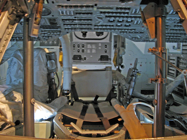 Apollo Command Module Cockpit - Pics about space