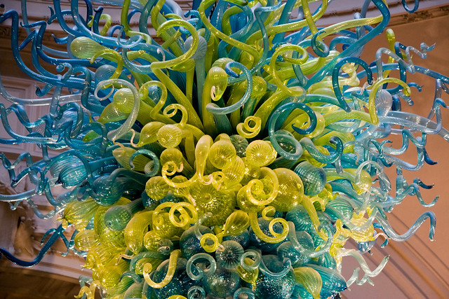 Dale Chihulyu0026#39;s Chandelier @ Vu0026A : Flickr - Photo Sharing!