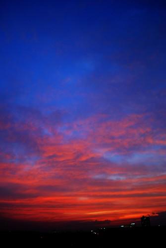 sunset sky sunrise dhaka bangladesh hdr selim azad selimazad