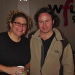 Martin Sexton with Rita Houston at WFUV