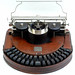 Hammond 1  typewriter - 1881, www.antiquetypewriters.com by antique typewriters