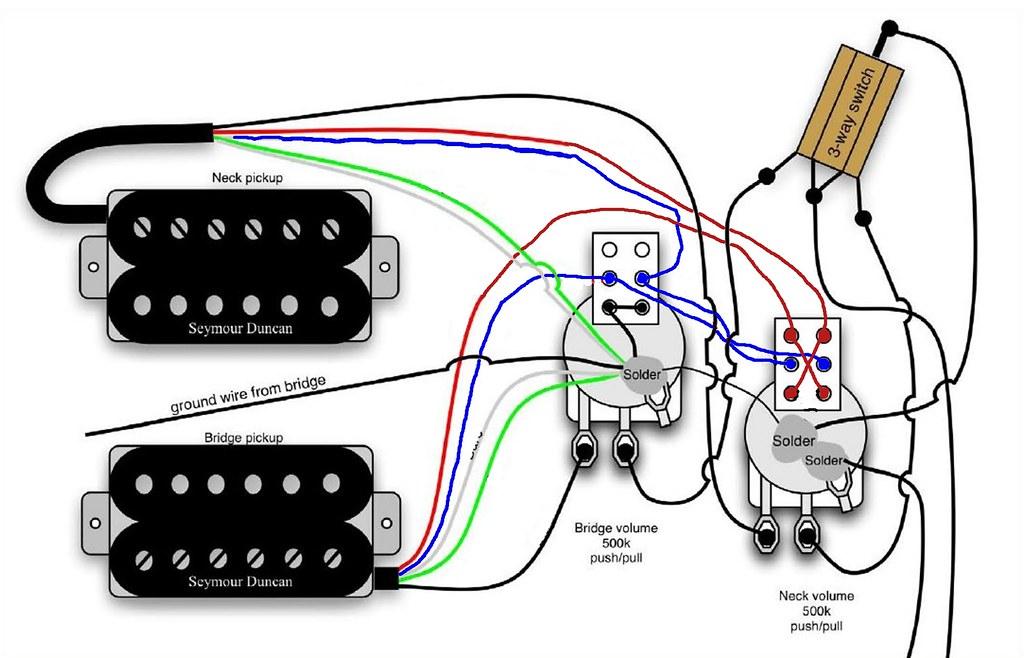 lipstick pickup wiring diagram pickup wiring push pull