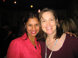 Shonali Burke and Kami Huyse at PRSA 2008 in Detroit