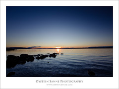 Sunset at Huk