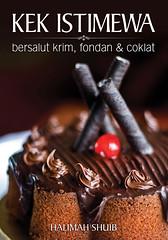 Cake Book Cover: Kek Istimewa Bersalut Krim, Fondan & Coklat