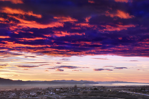 sunset utah layton digitalblending hillairforcebase jssutt