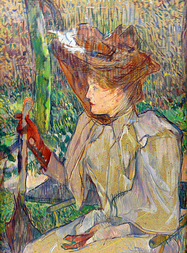 Toulouse-Lautrec, Woman with Gloves
