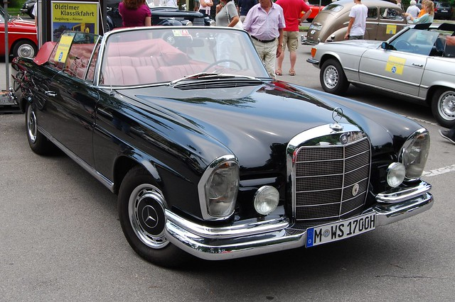 mercedes benz 220 se cabrio w111 1961 65 a photo on. Black Bedroom Furniture Sets. Home Design Ideas