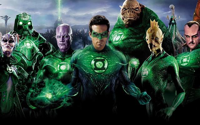 супергерои Зеленый Фонарь