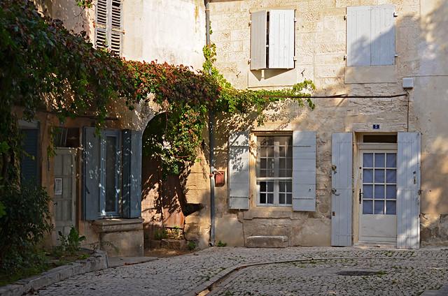 Square, Saint Remy de Provence, France