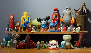 Toys at my desk