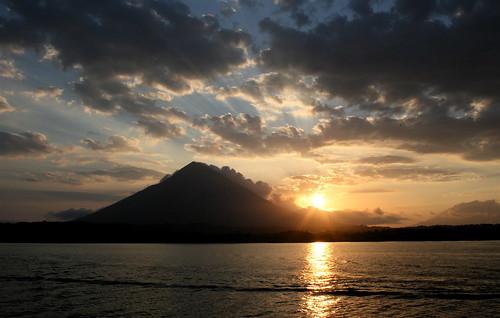 travel lake nature sunrise trekking landscape volcano lakenicaragua volcanomaderas volcanoconcepcion