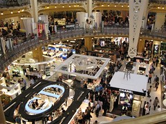 Cosmetics and fragrance floor
