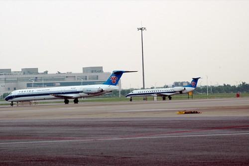 CZ MD-80 and ERJ