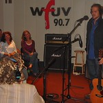 Citizen Cope performs for WFUV in Studio A