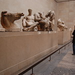 Statues from the Elgin Marbles at the British Museum