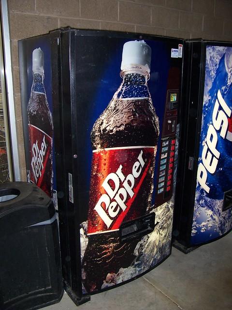 Dr Pepper Bottle Vending Machine Flickr Photo Sharing