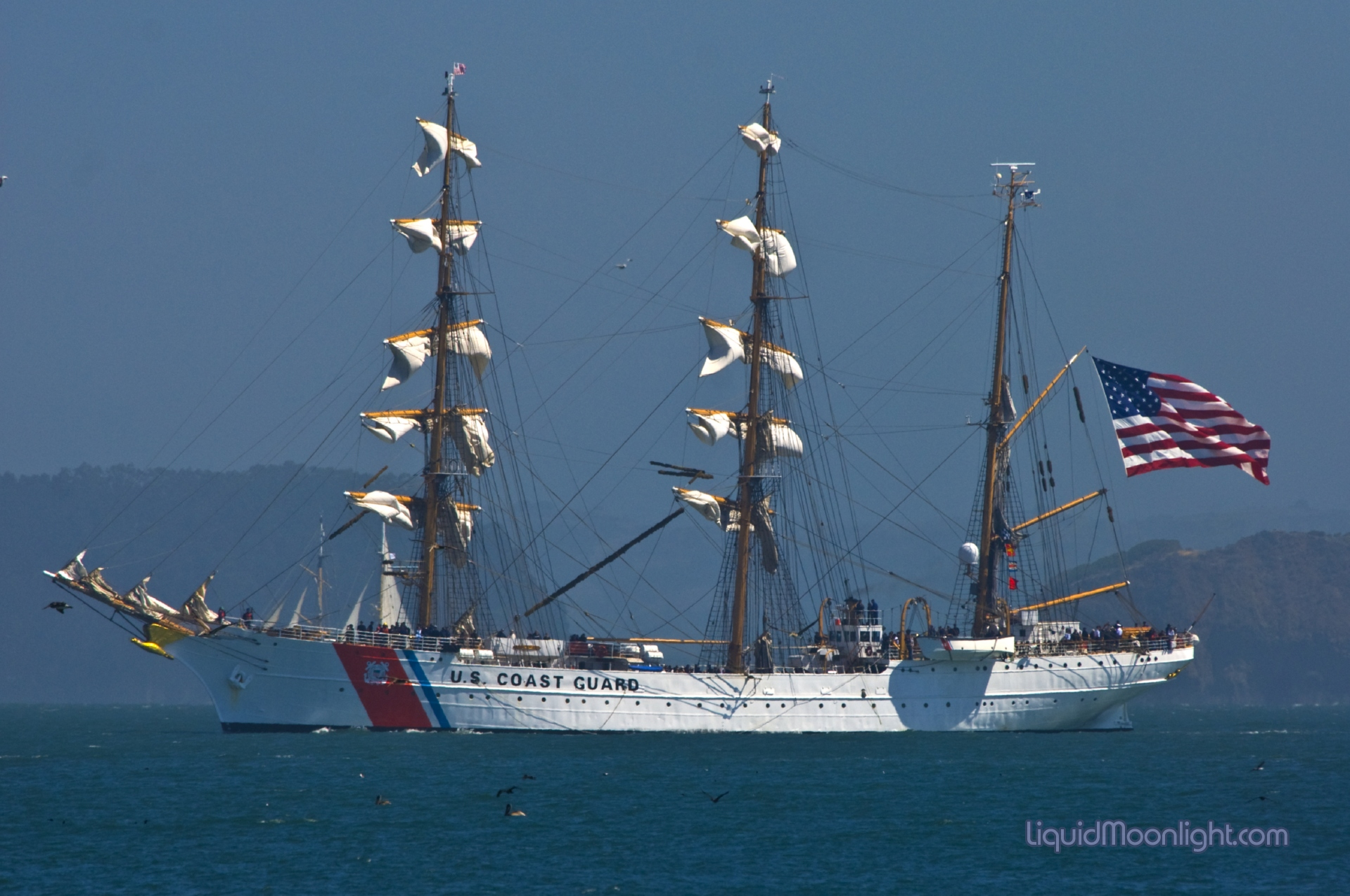 gallery for coast guard wallpaper eagle