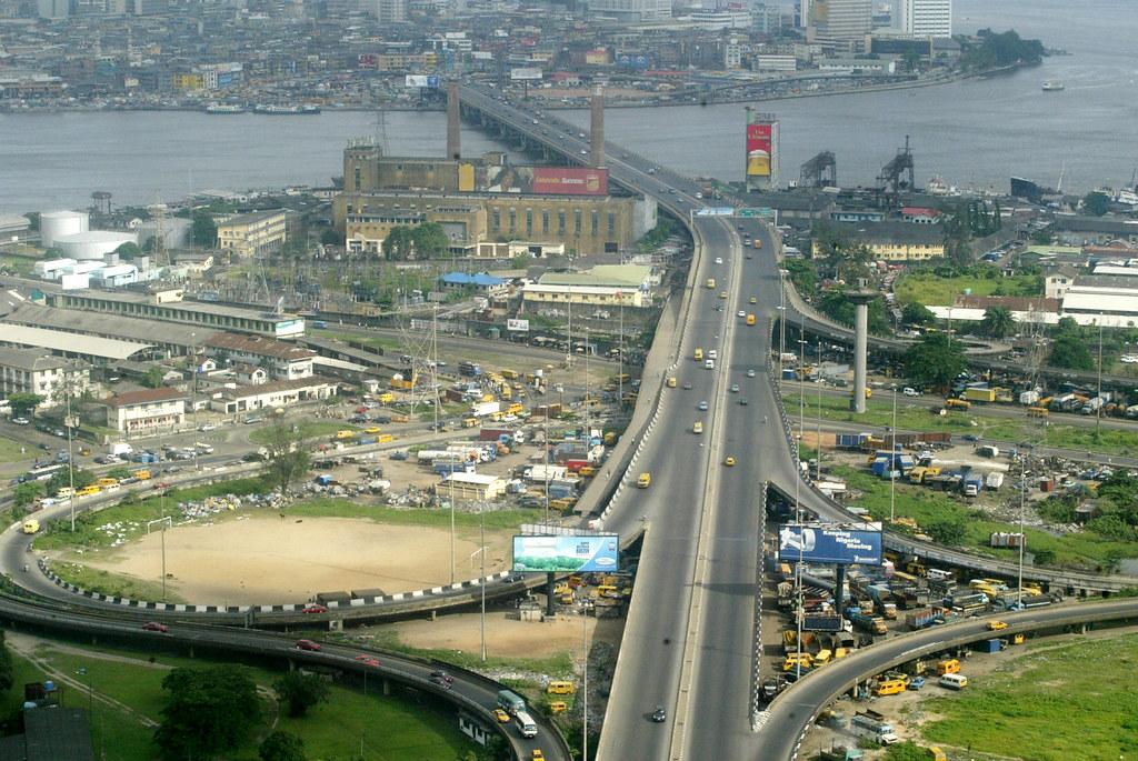 LAGOS ARIEL VIEW | Lagos roads | Sunday Alamba | Flickr