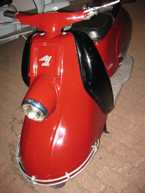 The Germans made scooters.
