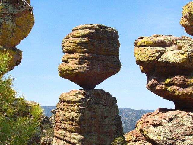 The Big Balanced Rock at Chiricahua