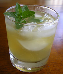 citrus(0.0), produce(0.0), food(0.0), mint julep(0.0), caipiroska(1.0), mojito(1.0), distilled beverage(1.0), liqueur(1.0), limeade(1.0), drink(1.0), cocktail(1.0), caipirinha(1.0), mai tai(1.0), alcoholic beverage(1.0),