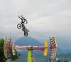 Motorcycle Stunts by Yolande Fraess