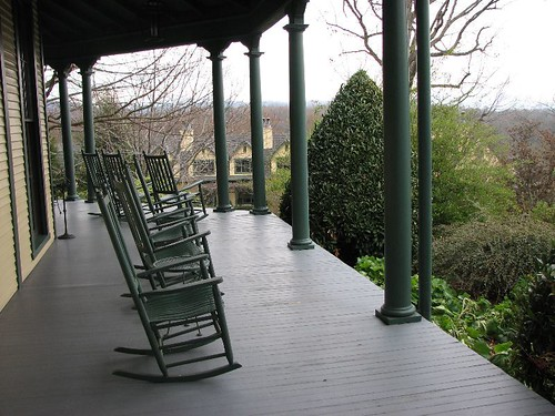 Richmond Hill Inn Porch