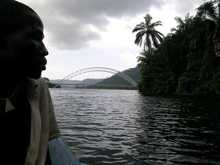 le pont d'Atimpoku