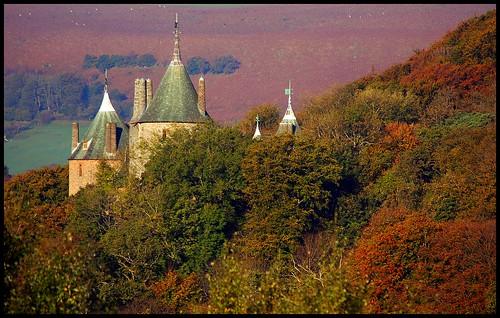 autumn trees mountain d50 nikon cardiff nikond50 autumncolours garth castellcoch castlecoch tongwynlais 51°3202n 3°1441w