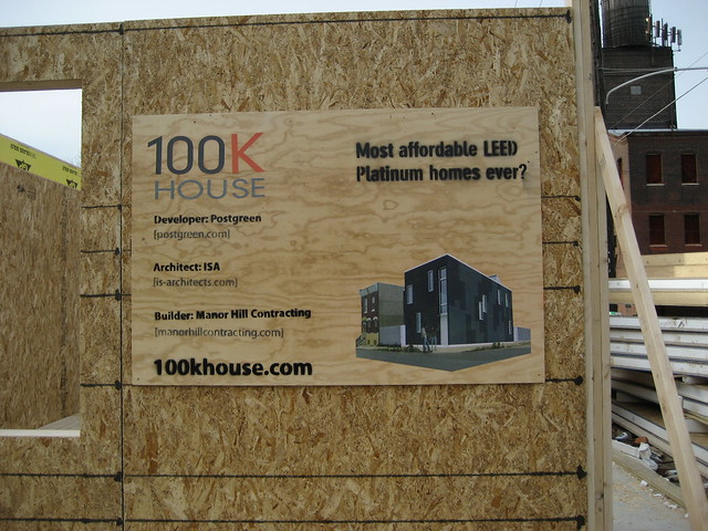 100k House Project Sign Flickr Photo Sharing
