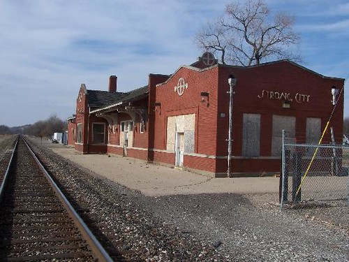 Railroad Depot Strong City Kansas Flickr Photo Sharing