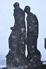 Beharrlichkeit und Mut im Schneegestöber