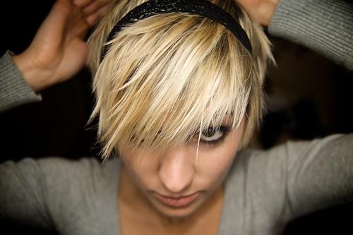Kurzhaarfrisuren blond 2013