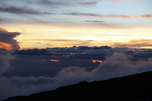 africa sunset sky mountain kilimanjaro clouds trek canon tanzania horombo 50d