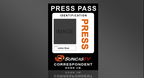 Pin press pass template image search results on pinterest for Press pass request template