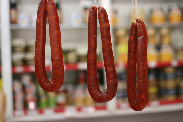 Chorizos.