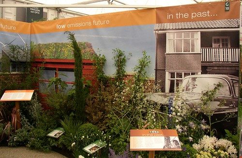 Low emissions future and past gardens