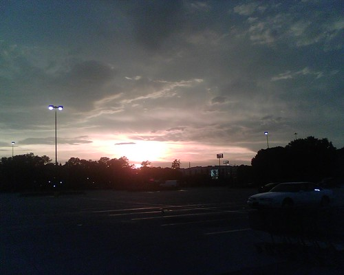 Parkinglot Sunset