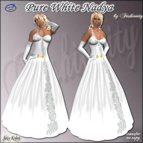 ads white nadya
